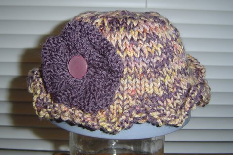 Bloomin' Baby Hat