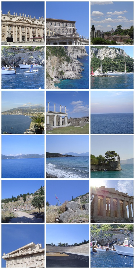 Blue Italy & Greece