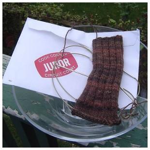 Jury Duty Sock