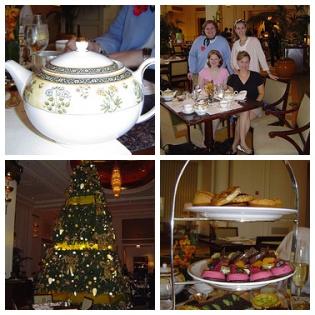 Tea at the Peninsula