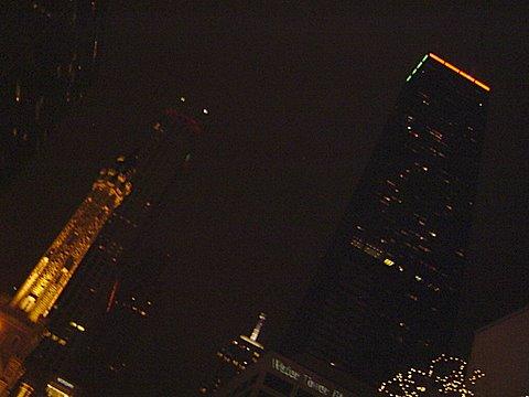 The Lights along Michigan Ave.